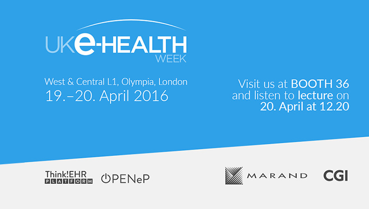 Marand exhibits at e-Health Week in London