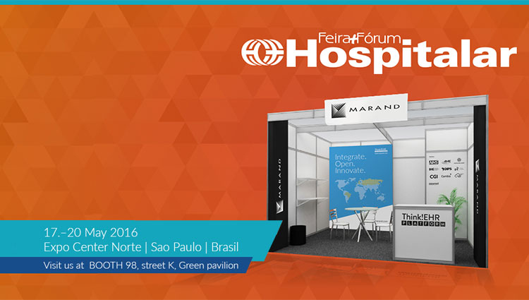 Marand at Hospitalar, one of the largest medical and hospital exhibitions in South America