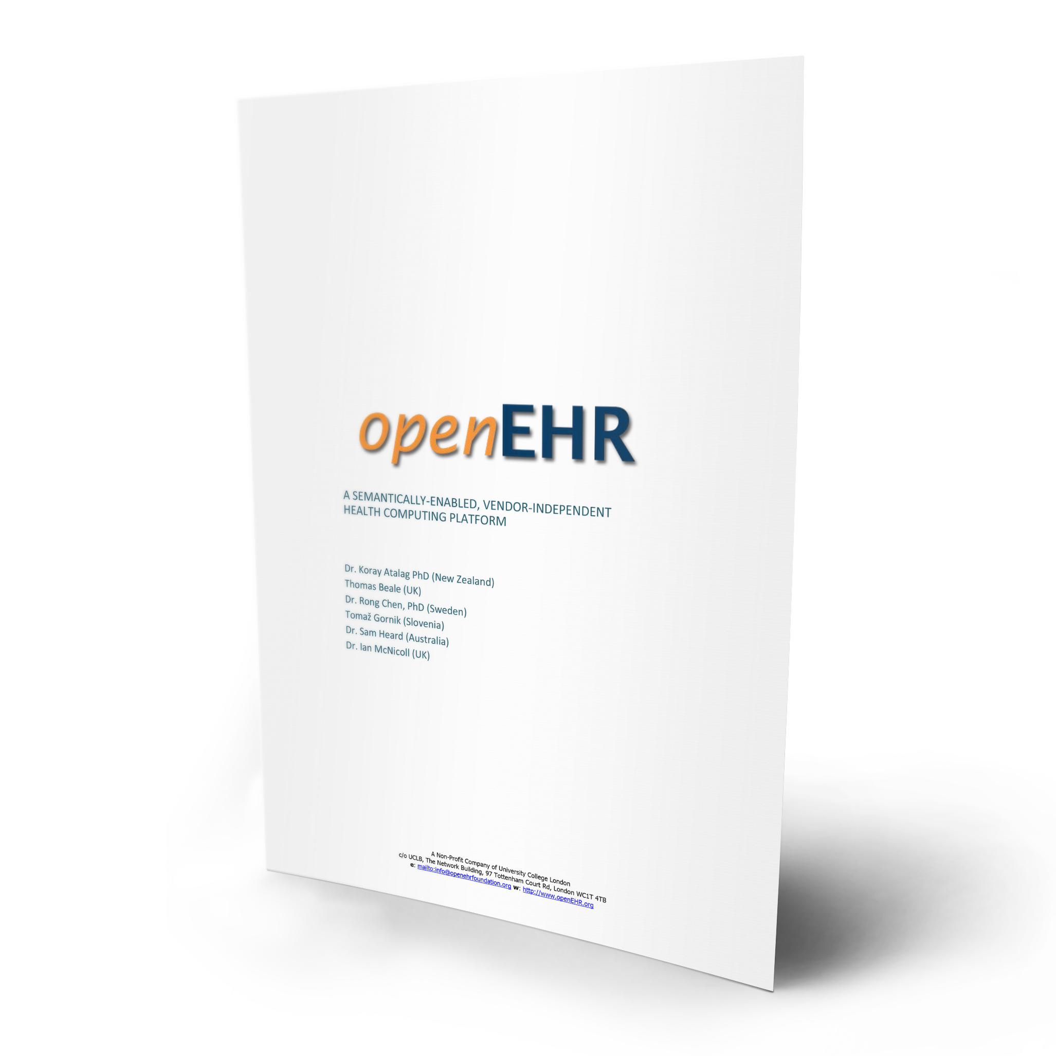 Download your free openEHR White Paper
