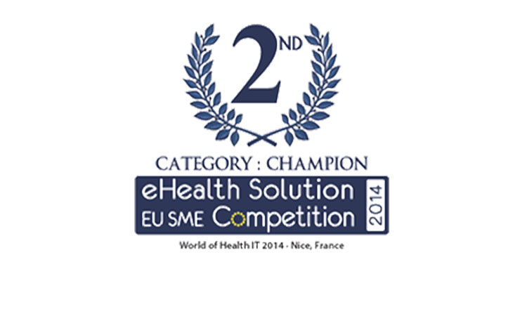 "Think!EHR Platform™ awarded second prize at ""Best eHealth Solution by EU SME"" at WoHIT 2014"