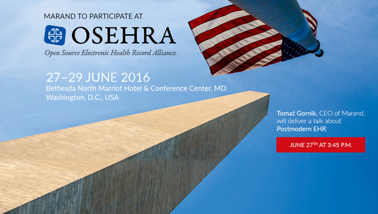 Marand to present on Postmodern EHRs at OSEHRA Open Source Summit