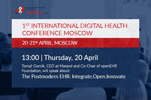 Marand speaking at the Digital Health Conference in Russia