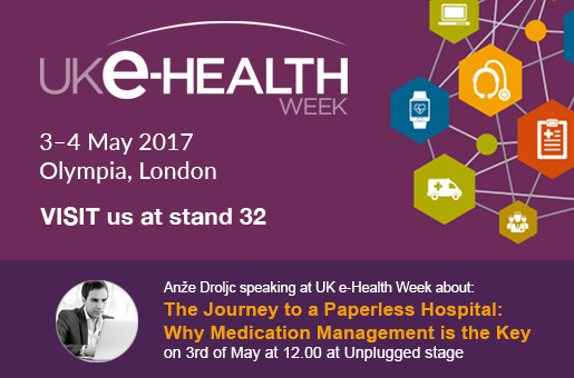 Marand showcasing Think!EHR Platform™ and OPENeP at UK eHealth week